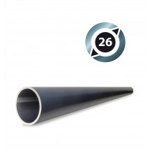 Tube aluminium D26 mm