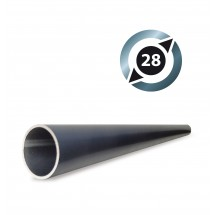 Tube Aluminium D28 mm